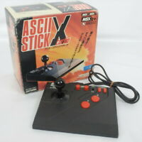 ASCII STICK X TURBO Controller For MSX,MSX2,X68000, Tested AS-7749-MX Boxed 0701
