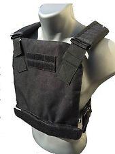 BAM Low Profile Bullet Proof CONCEAL Vest for AR500 Body Armor - BLACK