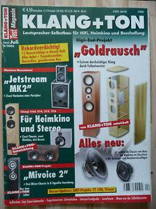 Klang & Ton 4/2005,  Inhaltsverzeichniss siehe Foto