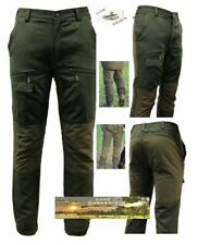 Game Scope Trousers, Multi Pocket Mesh Lined Waterproof Hunting / Fishing Pants