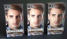 Lot 3 Men Select Hair Color Dye Medium Brown Fast Young Macho Spring Free Ship