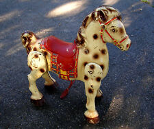 "RARE  1950's  ""MOBO""  HORSE  PRESSED  STEEL  RIDE-ON  TOY  BY: D. SEBEL  ENGLAND"