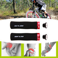 Cycling Lock-on Sponge Foam Handle Grips For Bicycle Road MTB BMX Bike Handlebar
