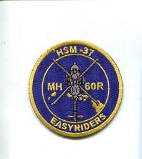 HSM-37 EASYRIDERS US NAVY SIKORSKY MH-60 Helicopter Squadron Jacket Patch
