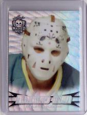 GILLES MELOCHE 17/18 Leaf Masked Men Insert Card #08 Prismatic Silver Wave RARE