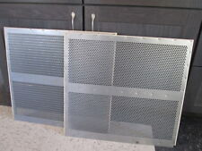 Clipper seed cleaner screens (one set of two screens for cleaning winter wheat)