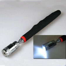 "Telescopic Magnetic Pick-Up Tool-with LED Flash Light Magnet Long Reach 32"" Long"