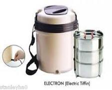 Electric tiffin-conception révolutionnaire 3 récipients doivent pour vacances, caravane etc.