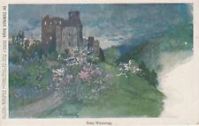 Künstler Postkarte - Burg Waxenegg