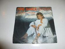 "BERDIEN STENBERG - Firedance - 1985 Dutch 2-track 7"" Juke Box Vinyl Single"