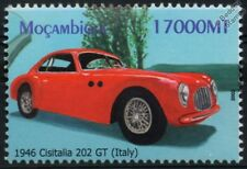 1946 CISITALIA 202-GT (Italy) Mint (MNH) Automobile Car Stamp (2002 Mozambique)