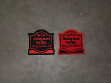 DIMEBAG DARRELL Memorial Tombstone patch..ACDC, Iron Maiden, Anthrax, Testament