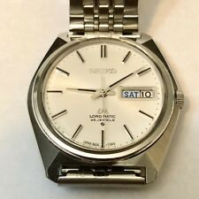 Vintage 1971 SEIKO Automatic watch [LM Lord Matic] 25 Jewels 5606 - 7000