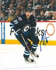 MATHIEU PERREAULT signed WINNIPEG JETS 8X10 PHOTO COA C