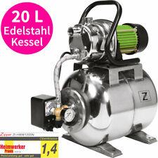 Zipper Niro Hauswasserwerk Edelstahl Haus Wasser Automat Garten Brunnen Pumpe
