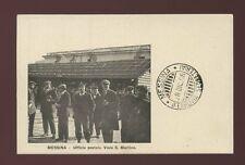 Italy MESSINA Viale S.Martin Ufficio postale Post Office 1908 PPC
