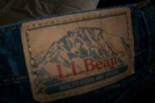 """LL Bean Mens Blue Denim Jeans Size 42""""x 29"""" Standarf fit  actual 43 x24 vintage?"""