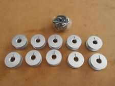 10X BOBBINS 1X BOBBIN CASE TO SUIT INDUSTRIAL AUTOMATIC STRAIGHT SEWERS
