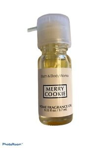 Bath & Body Works Merry Cookie Home Fragrance Oil For Diffuser RARE