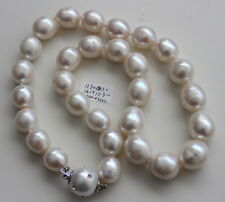 AAA 15.3mm freshwater pearls necklace 45cm