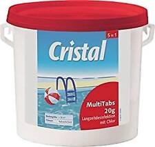 Cristal 5 In 1 Multitabs zur Algenvernichtung und Flockung