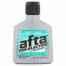 New Afta Pre-Electric Original Shave Lotion with Skin Conditioners 3 Fl Oz