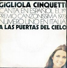 7inch GIGLIOLA CINQUETTI a las puertas del cielo SPAIN 1974 EX