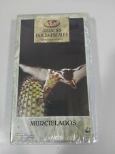 MURCIELAGOS GRANDES DOCUMENTALES WWF ADENA VHS CINTA TAPE NEW NUEVO