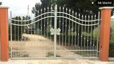 Cancello in ferro pieno arcato (SCONTATO AL 50%)