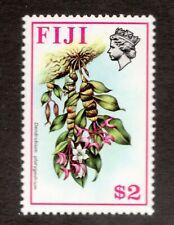 Sc320 wk 314 Upright - Fiji  - $2 - Flower 1960's - MNH - superfleas - cv$11