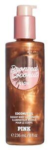 Victoria's Secret Pink New! Bronzed Coconut GLOW Radiant Body Illuminator 236ml