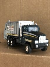 "City Garbage Truck Waste Management Dept Series 6"" Diecast Pullback Action Toy"