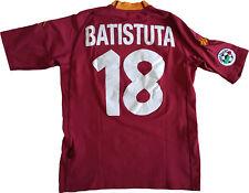 maglia Batistuta ROMA scudetto 2000 2001 Kappa N0 match worn Ina Assitalia M