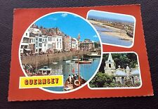 POSTCARD: (ET6127): GUERNSEY: MULTI SCENE: COLOUR: POSTED