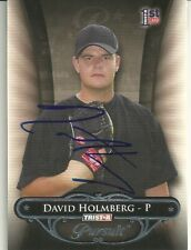 David Holmberg Chicago White Sox Organization Personally Autographed Card