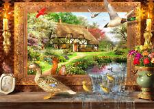 Puzzle Zurück ins Leben, 1500 Teile, 30% kleinere Teile, Enten, Kunst, Bluebird