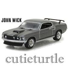 Greenlight Hollywood 18 John Wick 1969 Ford Mustang Boss 429 1:64 44780 E Grey