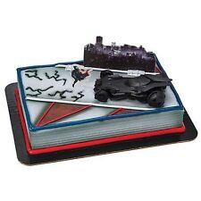 ~BATMAN vs SUPERMAN~ Cake Topper Batmobile Party Decoration Toys DecoPac Decoset