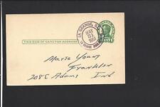 LA GRANGE,LA GRANGE HIGHLAND BR.,ILLINOIS,1951 GOVERNMENT POSTAL CARD, COOK CO.