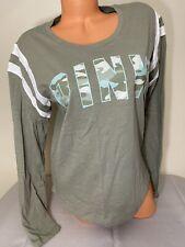 NWT Victorias Secret PINK Graphic Long Sleeve T-Shirt Size Medium