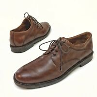 ✅❤️✅ @ Johnston & Murphy Oxfords MEN'S Leather Brown Lace up Shoes 11 M Dress