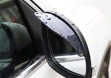 Universal CAR Specchio Pioggia SHADE Pioggia Prova LAME BACK Sopracciglia caso 2 PC