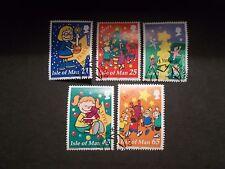 Isle of Man 2000 Commemorative Stamps~Christmas~Fine Used Set~UK seller