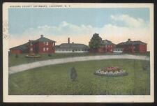 Postcard LOCKPORT New York/NY  Niagara County Old Folks? Infirmary view 1910's