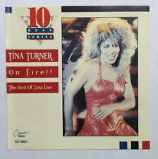 Tina Turner - On Fire-Best Of Live- (French Import) - Tina Turner CD S4VG The