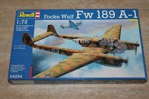 Revell 04294 Focke Wulf Fw 189 A-1 1:72 NEU mit OVP