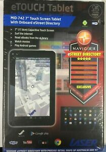Laser etouch Tablet MID-742 7 INCH TOUCH SCREEN BRAND NEW