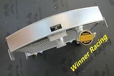 """Ford Model A 30-32 W/32 Grill Shell W/Chevy 305 SB V8 Engine 21.5"""" High Radiator"""