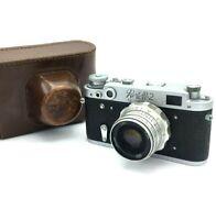 Vintage Soviet Camera FED 2 Industar 26m Rangefinder 35mm 60s USSR Photo Retro