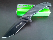Schrade Pocket Knife 9cr18mov Stainless Drop Point Blade Tactical Knives SCH310